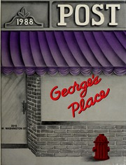 1988 Edition, George Washington High School - Post Yearbook (Indianapolis, IN)