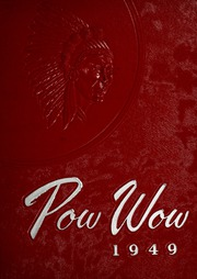 1949 Edition, Mississinewa High School - Pow Wow Yearbook (Gas City, IN)