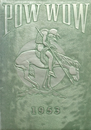 1953 Edition, Mississinewa High School - Pow Wow Yearbook (Gas City, IN)