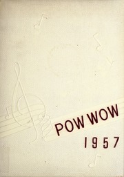 1957 Edition, Mississinewa High School - Pow Wow Yearbook (Gas City, IN)
