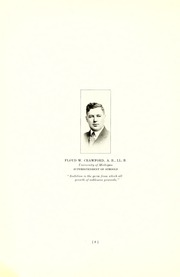 Page 14, 1918 Edition, Three Rivers High School - Reflector Yearbook (Three Rivers, MI) online yearbook collection