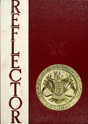 1963 Edition, Three Rivers High School - Reflector Yearbook (Three Rivers, MI)