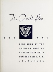 Page 5, 1943 Edition, Salem Academy - Quill Pen Yearbook (Winston Salem, NC) online yearbook collection