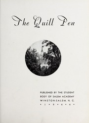 Page 5, 1944 Edition, Salem Academy - Quill Pen Yearbook (Winston Salem, NC) online yearbook collection
