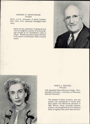 Page 12, 1947 Edition, Salem Academy - Quill Pen Yearbook (Winston Salem, NC) online yearbook collection