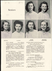 Page 17, 1947 Edition, Salem Academy - Quill Pen Yearbook (Winston Salem, NC) online yearbook collection