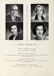 Page 10, 1951 Edition, Salem Academy - Quill Pen Yearbook (Winston Salem, NC) online yearbook collection