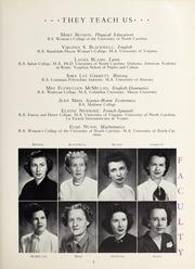 Page 11, 1951 Edition, Salem Academy - Quill Pen Yearbook (Winston Salem, NC) online yearbook collection