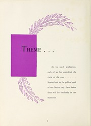Page 6, 1951 Edition, Salem Academy - Quill Pen Yearbook (Winston Salem, NC) online yearbook collection