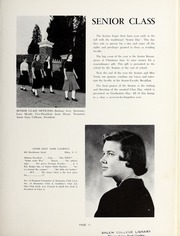 Page 15, 1956 Edition, Salem Academy - Quill Pen Yearbook (Winston Salem, NC) online yearbook collection