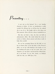 Page 8, 1956 Edition, Salem Academy - Quill Pen Yearbook (Winston Salem, NC) online yearbook collection