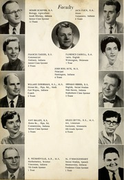 Page 6, 1959 Edition, Arcola High School - Quotanis Yearbook (Arcola, IN) online yearbook collection