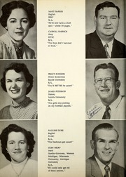 Page 14, 1955 Edition, Perryton High School - Ranger Yearbook (Perryton, TX) online yearbook collection