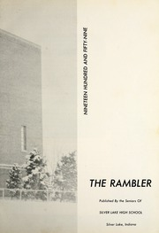Page 7, 1959 Edition, Silver Lake High School - Rambler Yearbook (Silver Lake, IN) online yearbook collection