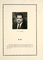 Page 9, 1923 Edition, North Adams High School - Rampages Yearbook (North Adams, MI) online yearbook collection