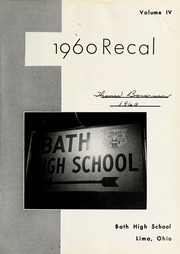 Page 5, 1960 Edition, Bath High School - Recal Yearbook (Lima, OH) online yearbook collection