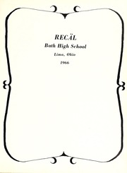Page 7, 1966 Edition, Bath High School - Recal Yearbook (Lima, OH) online yearbook collection