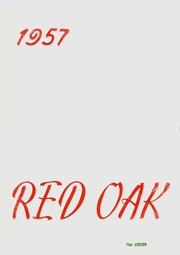Page 1, 1957 Edition, Rancocas Valley Regional High School - Red Oak Yearbook (Mount Holly, NJ) online yearbook collection