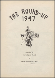 Page 7, 1947 Edition, Union High School - Redskin Yearbook (Tulsa, OK) online yearbook collection