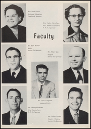 Page 15, 1954 Edition, Union High School - Redskin Yearbook (Tulsa, OK) online yearbook collection