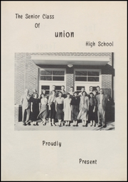 Page 7, 1954 Edition, Union High School - Redskin Yearbook (Tulsa, OK) online yearbook collection