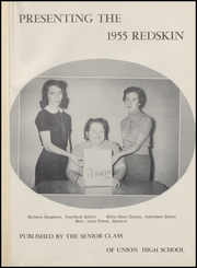 Page 5, 1955 Edition, Union High School - Redskin Yearbook (Tulsa, OK) online yearbook collection