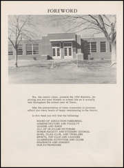 Page 10, 1958 Edition, Union High School - Redskin Yearbook (Tulsa, OK) online yearbook collection