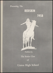 Page 5, 1958 Edition, Union High School - Redskin Yearbook (Tulsa, OK) online yearbook collection