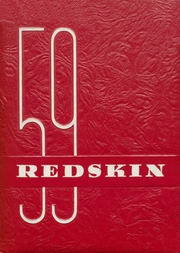 Union High School - Redskin Yearbook (Tulsa, OK) online yearbook collection, 1959 Edition, Page 1