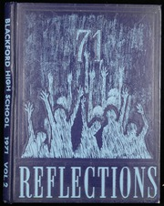 1971 Edition, Blackford High School - Reflections Yearbook (Hartford City, IN)