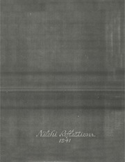 Niles Township High School East - Reflections Yearbook (Skokie, IL) online yearbook collection, 1941 Edition, Page 1