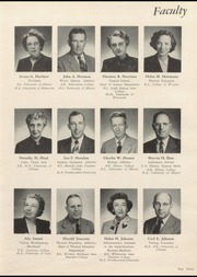 Page 11, 1952 Edition, Niles Township High School East - Reflections Yearbook (Skokie, IL) online yearbook collection