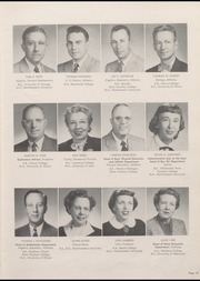 Page 17, 1954 Edition, Niles Township High School East - Reflections Yearbook (Skokie, IL) online yearbook collection