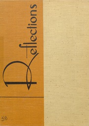 1958 Edition, Niles Township High School East - Reflections Yearbook (Skokie, IL)