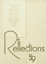 1959 Edition, Niles Township High School East - Reflections Yearbook (Skokie, IL)