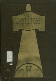 1927 Edition, Griffin High School - Reflections Yearbook (Griffin, GA)