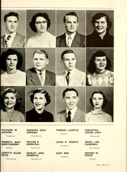 Page 17, 1952 Edition, Hartford City High School - Retro Yearbook (Hartford City, IN) online yearbook collection