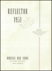 Page 5, 1951 Edition, Mehlville High School - Reflector Yearbook (St Louis, MO) online yearbook collection