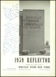 Page 5, 1959 Edition, Mehlville High School - Reflector Yearbook (St Louis, MO) online yearbook collection