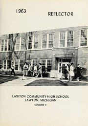 Page 5, 1963 Edition, Lawton High School - Reflector Yearbook (Lawton, MI) online yearbook collection