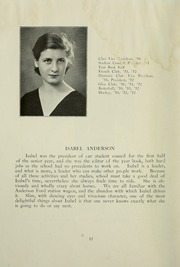 Page 16, 1932 Edition, College High School - La Campanilla Yearbook (Upper Montclair, NJ) online yearbook collection