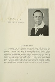 Page 17, 1932 Edition, College High School - La Campanilla Yearbook (Upper Montclair, NJ) online yearbook collection