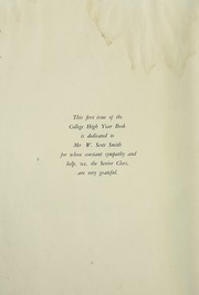 Page 8, 1932 Edition, College High School - La Campanilla Yearbook (Upper Montclair, NJ) online yearbook collection