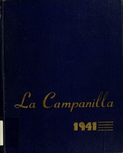 Page 1, 1941 Edition, College High School - La Campanilla Yearbook (Upper Montclair, NJ) online yearbook collection