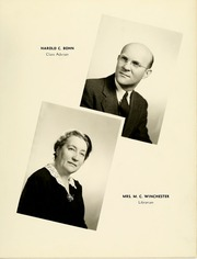 Page 11, 1941 Edition, College High School - La Campanilla Yearbook (Upper Montclair, NJ) online yearbook collection