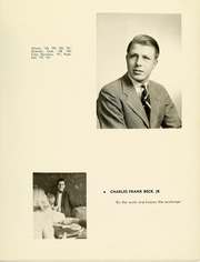 Page 17, 1941 Edition, College High School - La Campanilla Yearbook (Upper Montclair, NJ) online yearbook collection