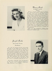 Page 14, 1945 Edition, College High School - La Campanilla Yearbook (Upper Montclair, NJ) online yearbook collection