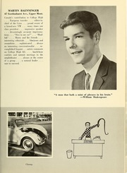 Page 17, 1963 Edition, College High School - La Campanilla Yearbook (Upper Montclair, NJ) online yearbook collection