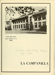 Page 5, 1963 Edition, College High School - La Campanilla Yearbook (Upper Montclair, NJ) online yearbook collection