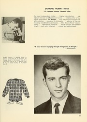 Page 17, 1964 Edition, College High School - La Campanilla Yearbook (Upper Montclair, NJ) online yearbook collection